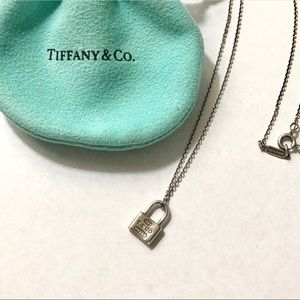 Tiffany & Co. 1837 Collection Lock Necklace